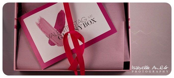 Glossybox zum Valentinstag