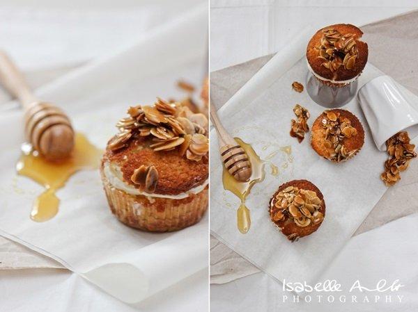Food Bienenstich-Cupcake Kombi