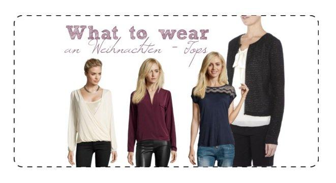 What to wear an Weihnachten Title