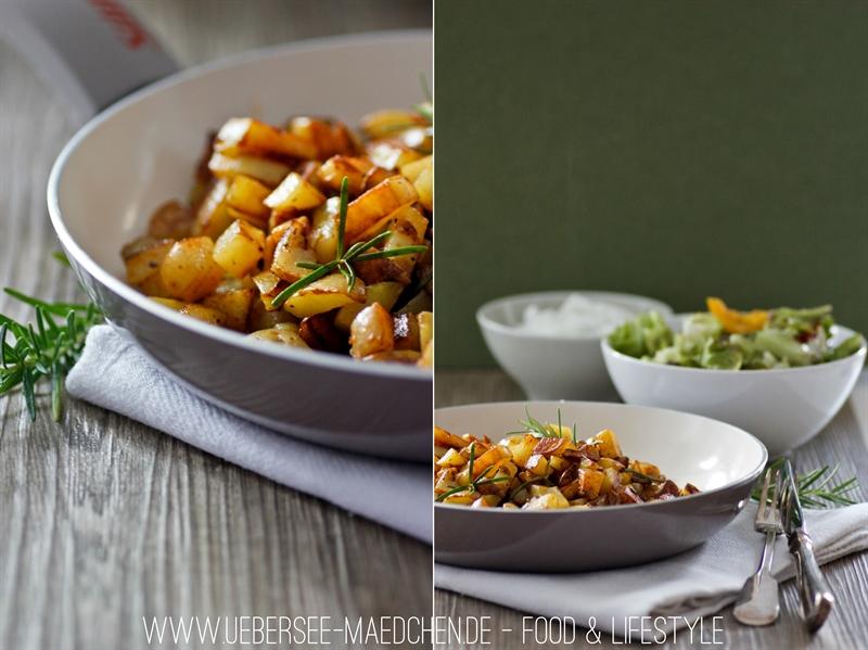 Schnell und einfach: Rezept für Bratkartoffeln mit Rosmarin