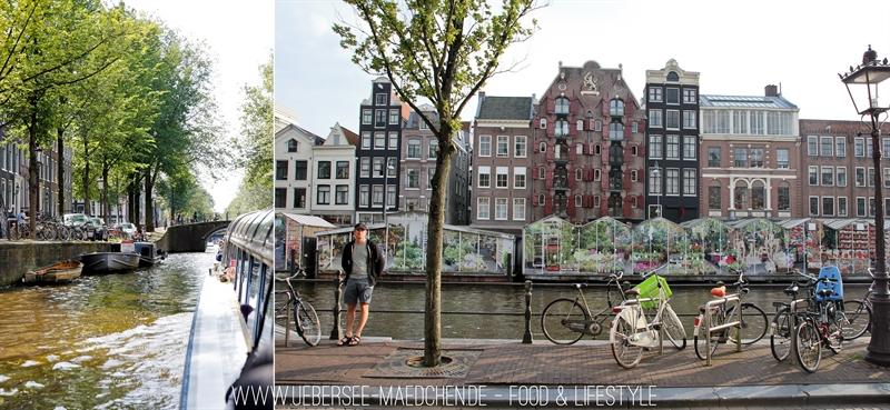 Stadtrundfahrt in Amsterdam