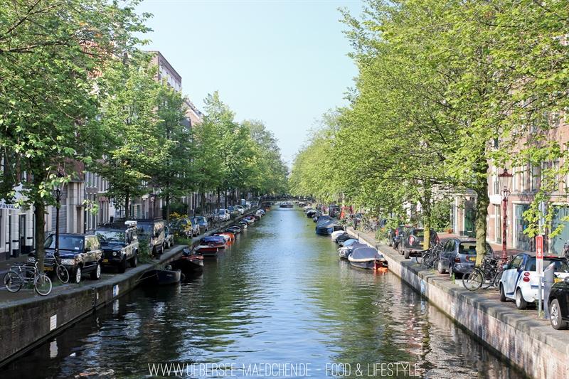 Grachten Schnappschüsse aus Amsterdam