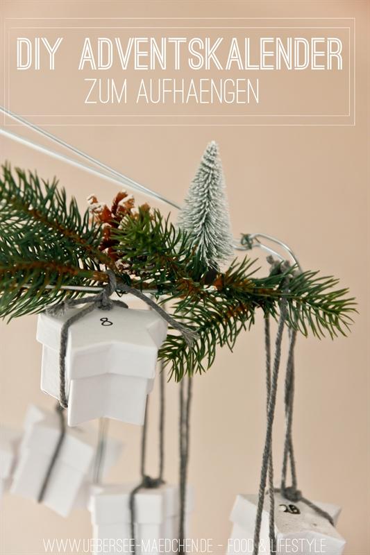DIY Adventskalender zum Aufhängen