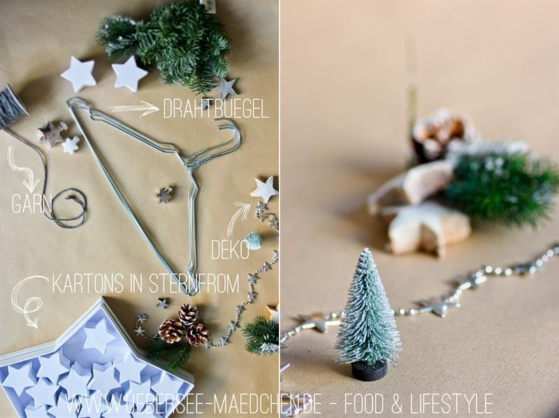 Einkaufsliste für DIY Adventskalender zum Aufhängen