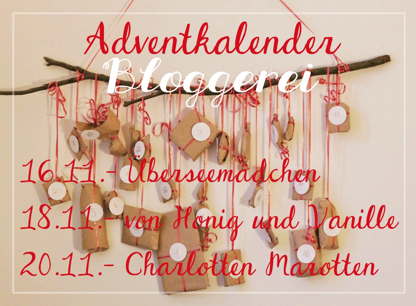 diy adventskalender zum aufh ngen bersee m dchen. Black Bedroom Furniture Sets. Home Design Ideas