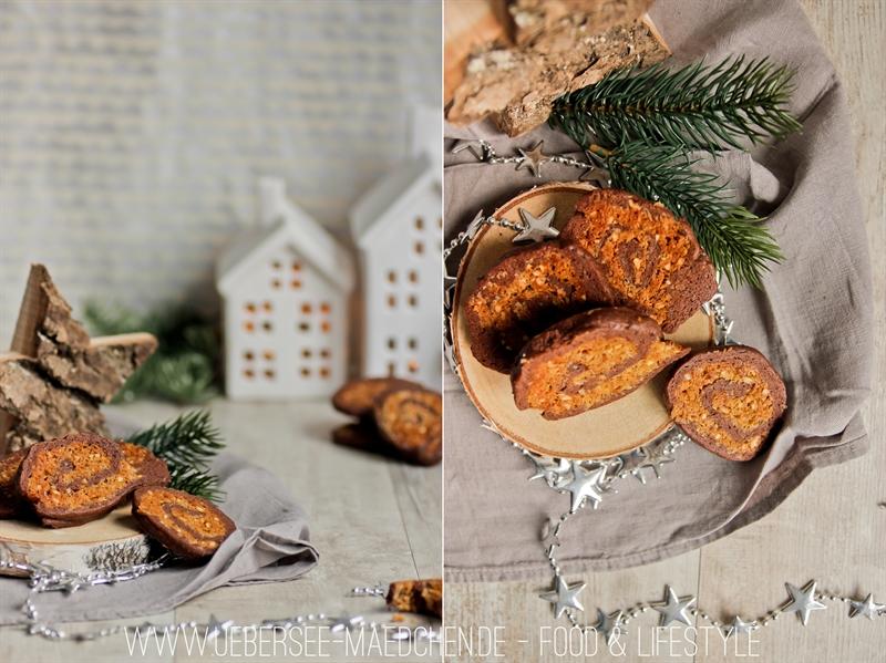 Plätzchen-Rezept für Kokos-Schoko-Schnecken