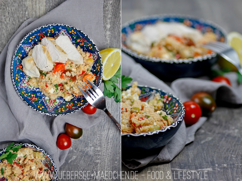Rezept für den idealen Mittagssnack: Couscous-Salat