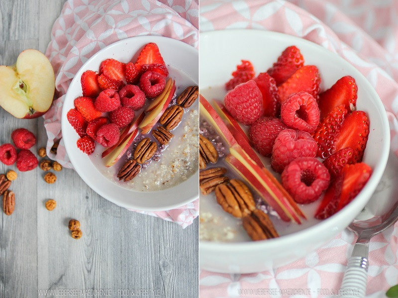 Rezept für Erdmandeln: Erdmandel-Porridge
