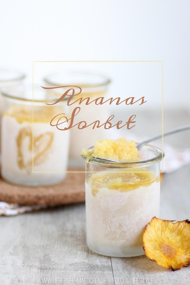 Rezept für Ananas-Sorbet
