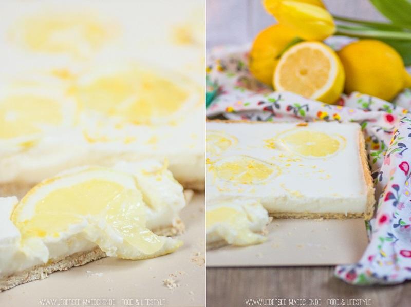 Rezept für Zitronen-Buttermilch-Tarte passend zum Sommer