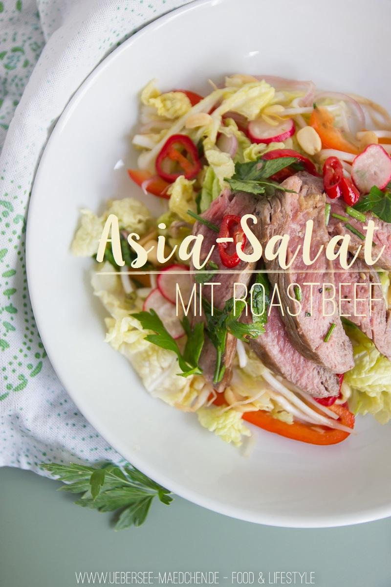 Rezept für Asia-Salat mit Rindfleisch