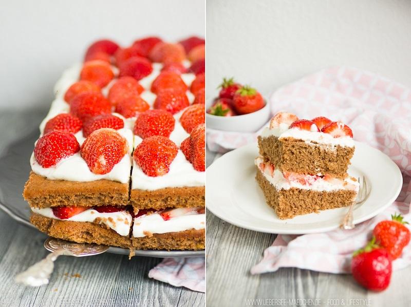 Beeindruckende Erdbeer-Torte einfach und schnell gemacht