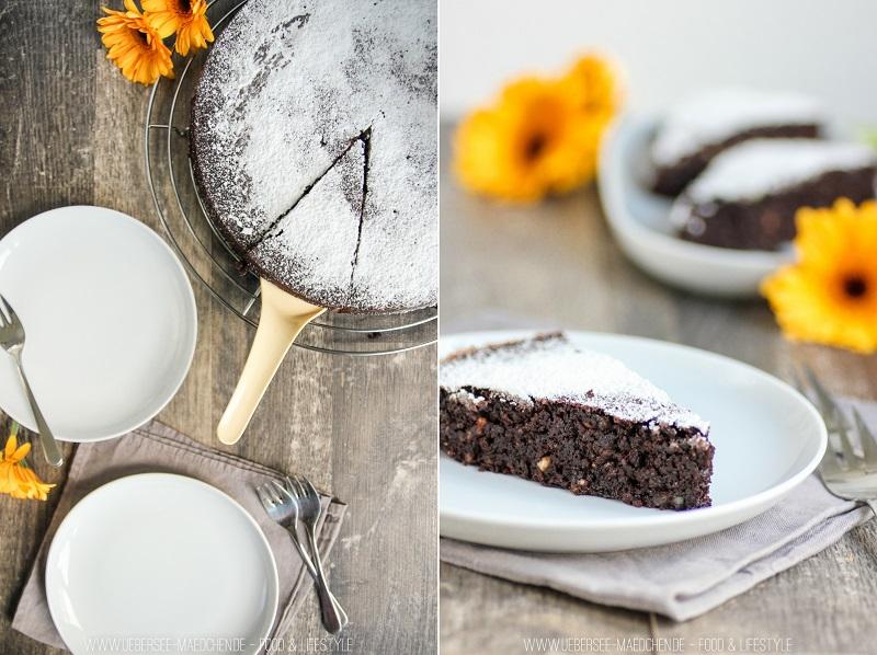 Schwedischer Schokokuchen Chokladbak ohne Mehl