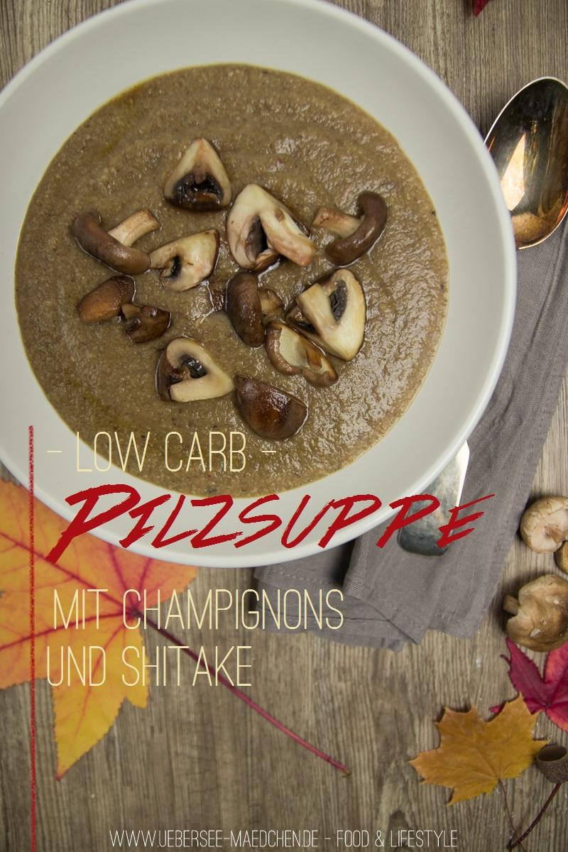 Rezept für vegane Pilzsuppe