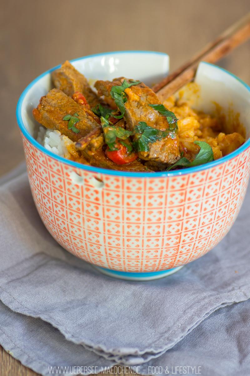 Curry mit Rindfleisch Zimt und wenigen Zutaten