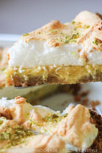 Key Lime Pie Amerikanische Zitronentarte mit Baiser Rezept von ÜberSee-Mädchen Foodblog vom Bodensee