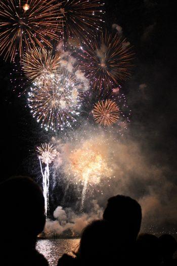 Seenachtsfest Konstanz mit Feuerwerk