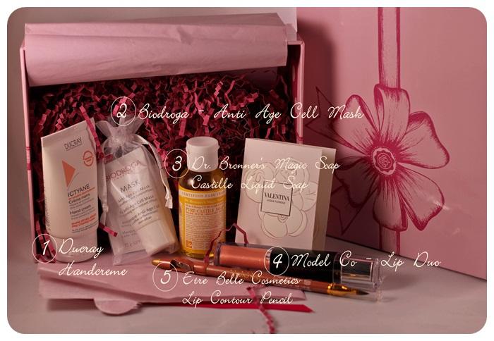 Glossybox zum Valentinstag-2 mit Labels