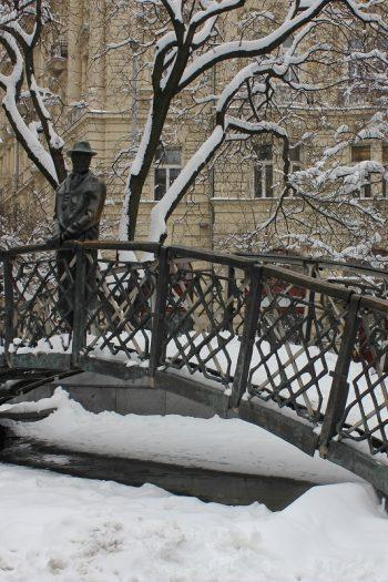 Budapest bei Schnee