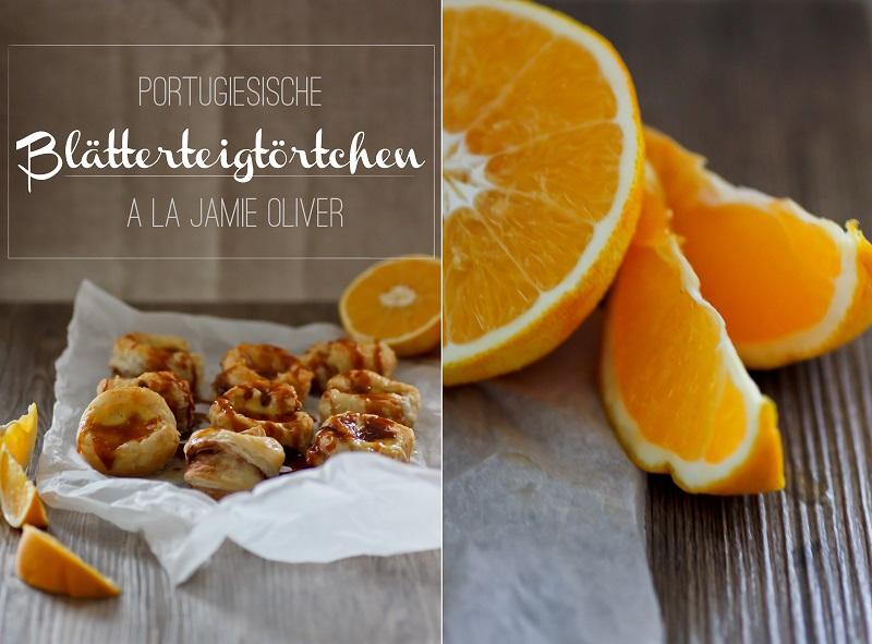 Food Portugiesische Blätterteig-Törtchen nach Jamie Oliver ÜberSee-Mädchen Kombi 1