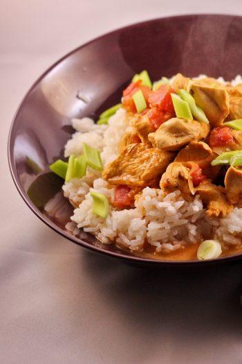 Rezept für leckeres schnelles Curry