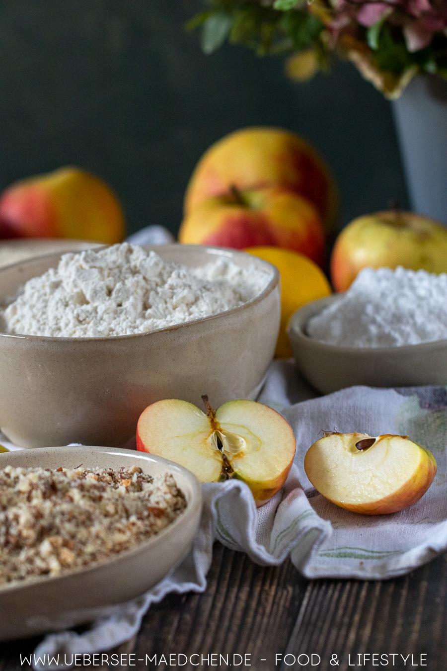 Ein Kuchenrezept mit vielen Äpfeln: Gedeckter Apfelkuchen