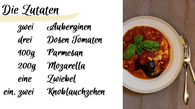 Food Auberginen Zutaten