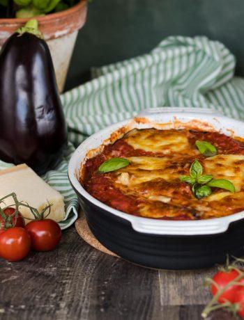Parmigiana di melanzane Auberginenauflauf low carb Rezept von ÜberSee-Mädchen Foodblog vom Bodensee Überlingen