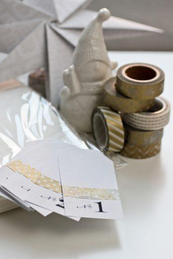 DIY für Adventskalender Vespertüten