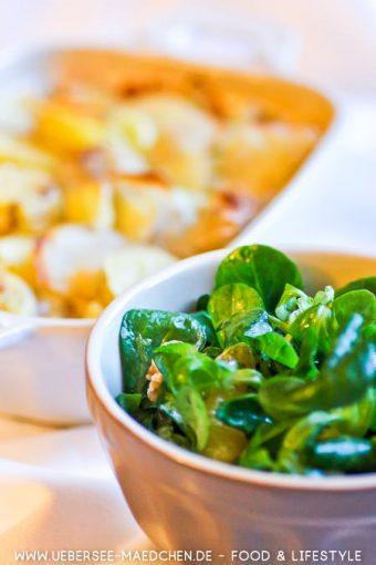 Rezept für Kartoffelgratin wie bei Mama mit Sahne rohen Kartoffeln von ÜberSee-Mädchen