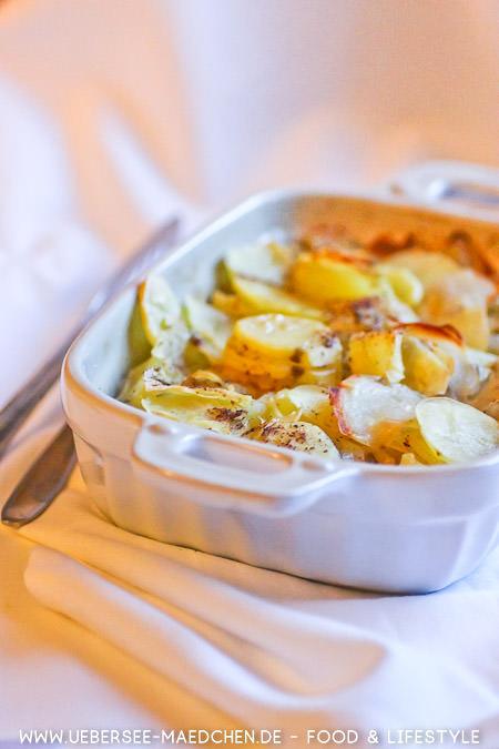 Kartoffelgratin-Rezept wie bei Mama von ÜberSee-Mädchen Foodblog vom Bodensee