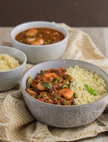 Orientalisches Couscuos in 15 Minuten mit einem Topf nach Jamie Oliver Rezept von ÜberSee-Mädchen Foodblog vom Bodensee