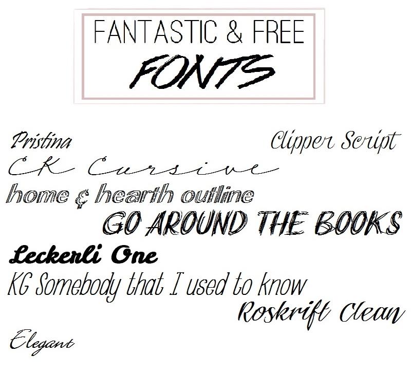Fonts 5
