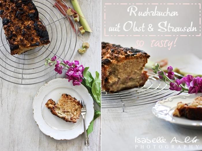 Food Rhabarberkuchen Title