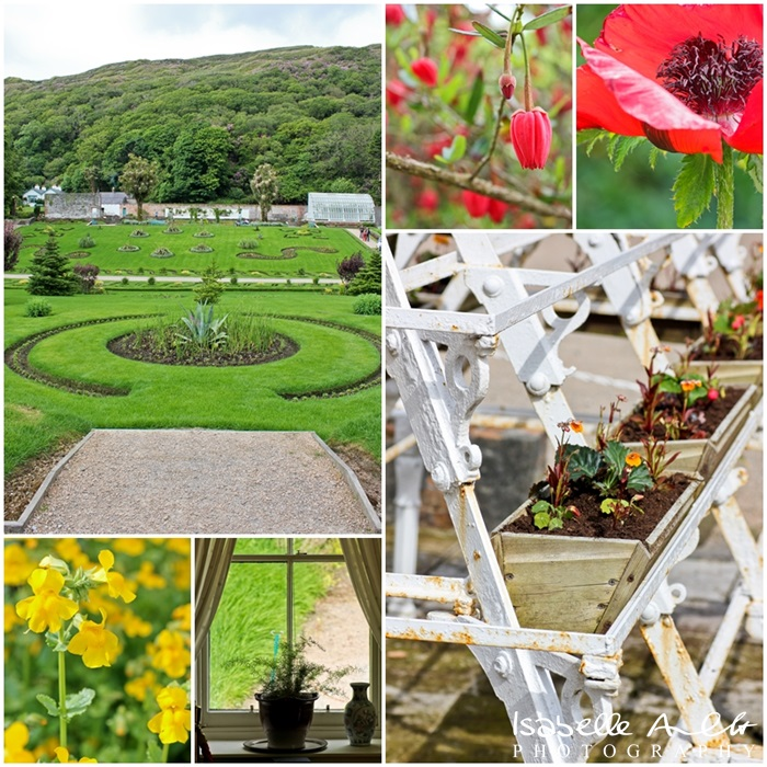 Irland Kylemore Abbey - The Garden