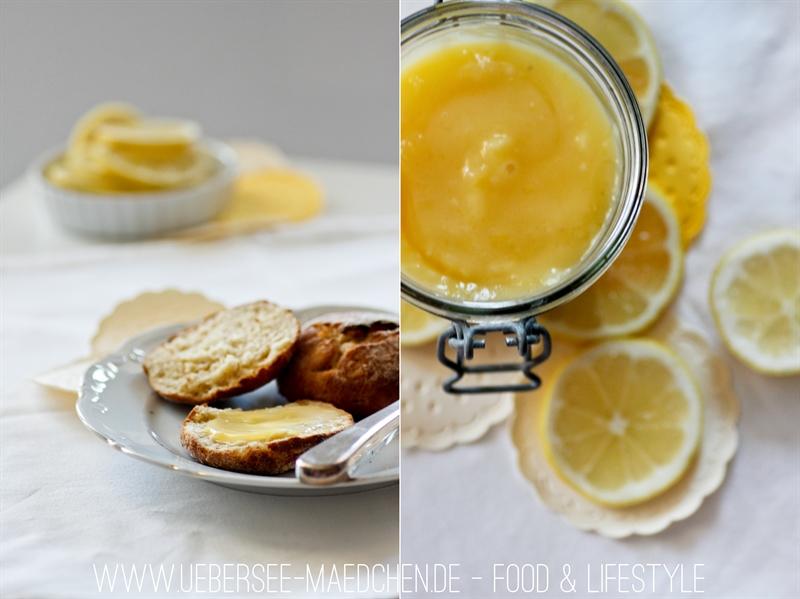 Food Lemon Curd zu Scones ÜberSee-Mädchen 1
