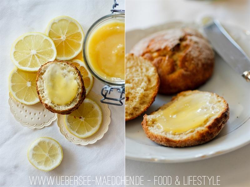 Food Lemon Curd zu Scones ÜberSee-Mädchen 2