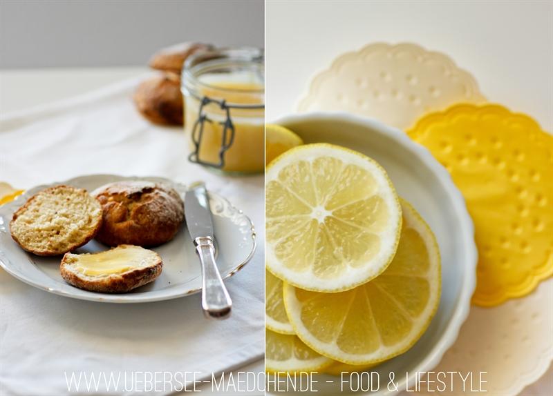 Food Lemon Curd zu Scones ÜberSee-Mädchen 3