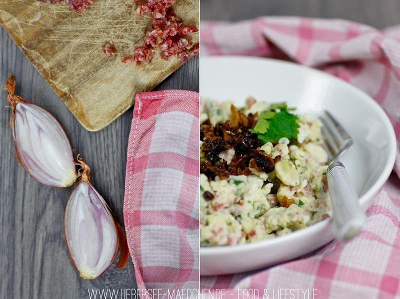 Schwäbische Wurstspätzle machen Spätzle mit Wurst und Petersilie im Teig zum Hauptgericht