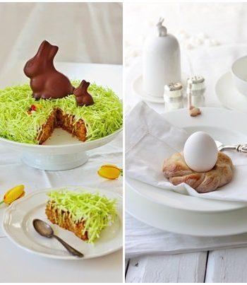 Oster-Inspiration Food Rezepte Osterfrühstück Hefe Möhrenkuchen