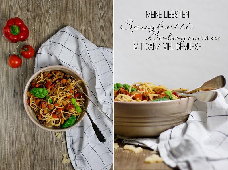 Spaghetti Bolognese Rezept mit Gemüse