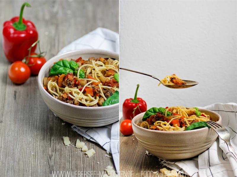 Rezept Spaghetti Bolognese Hackfleisch Suppengemüse