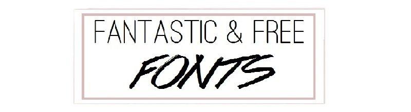 Fantastic & Free Fonts beim ÜberSee-Mädchen