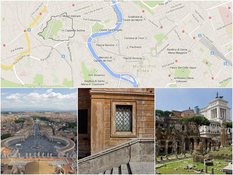 Sehenswürdigkeiten Rom Italien Tagestrip Kurzreise