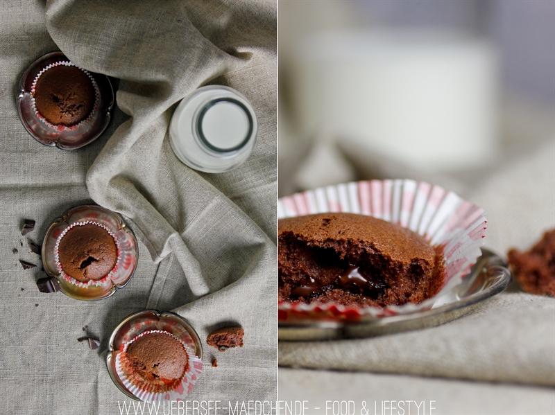 Schokoladige Eiweiß-Muffins zur Resteverwertung von Eiweiß