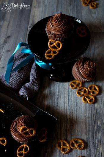 Salzbrezel-Cupcakes von Behyflora