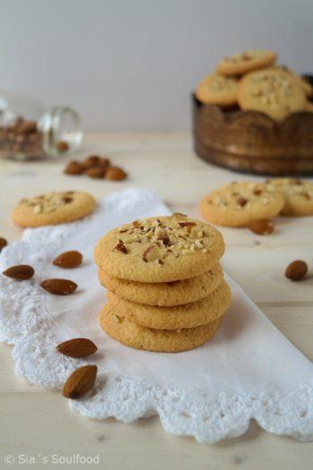 Mandel Cookies von Sias Soulfood