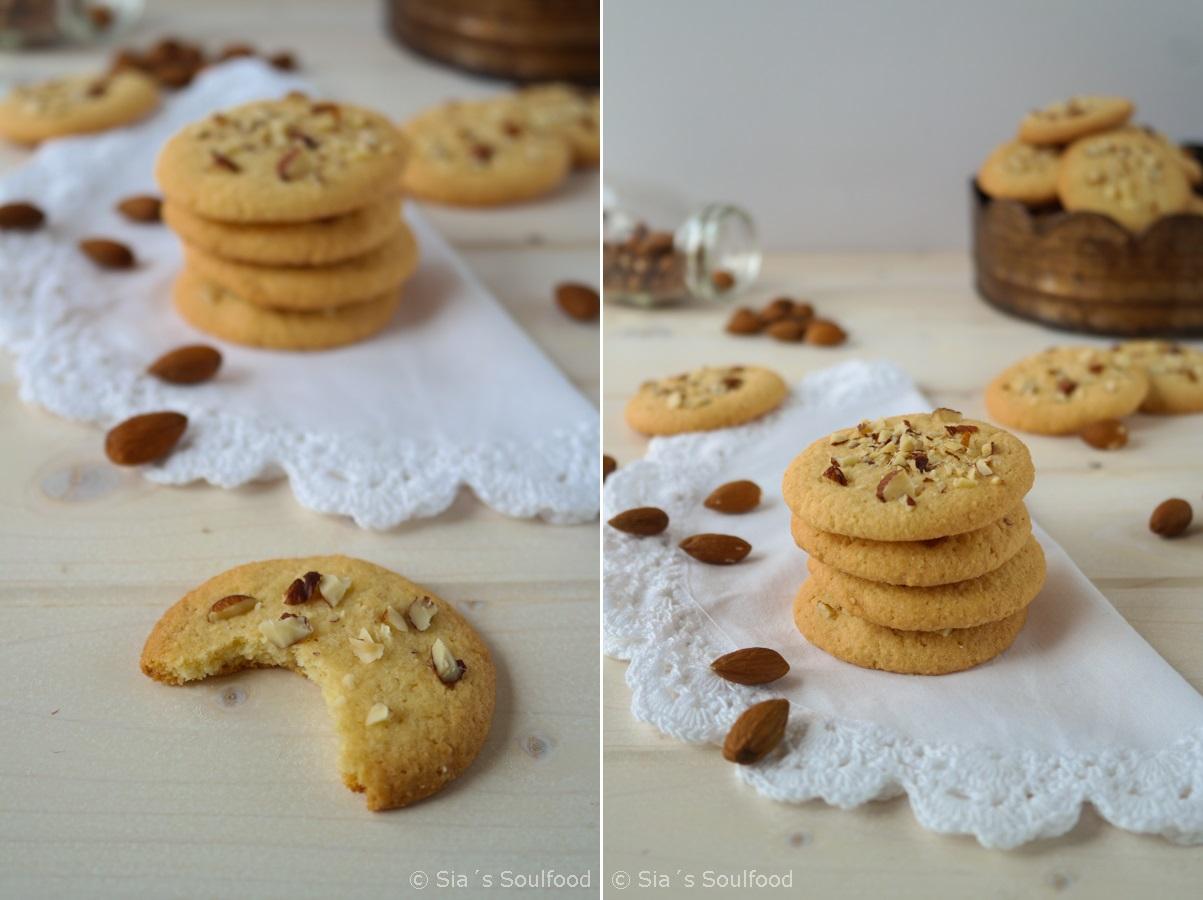 Saftige Mandel-Cookies