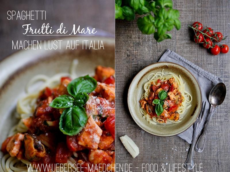 Rezept für Spaghetti Frutti di Mare