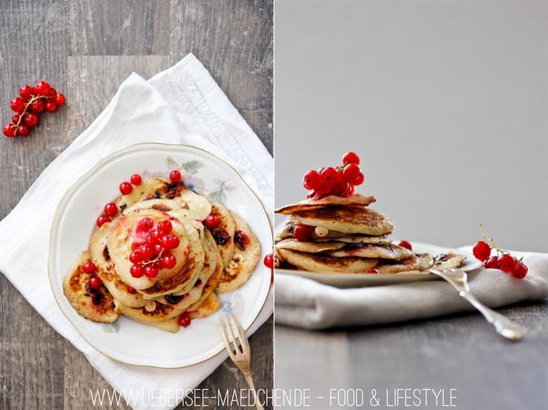 Rezept für Johannisbeer-Pancakes